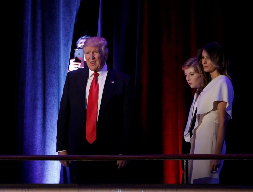 Donald Trump trở thành tổng thống Mỹ