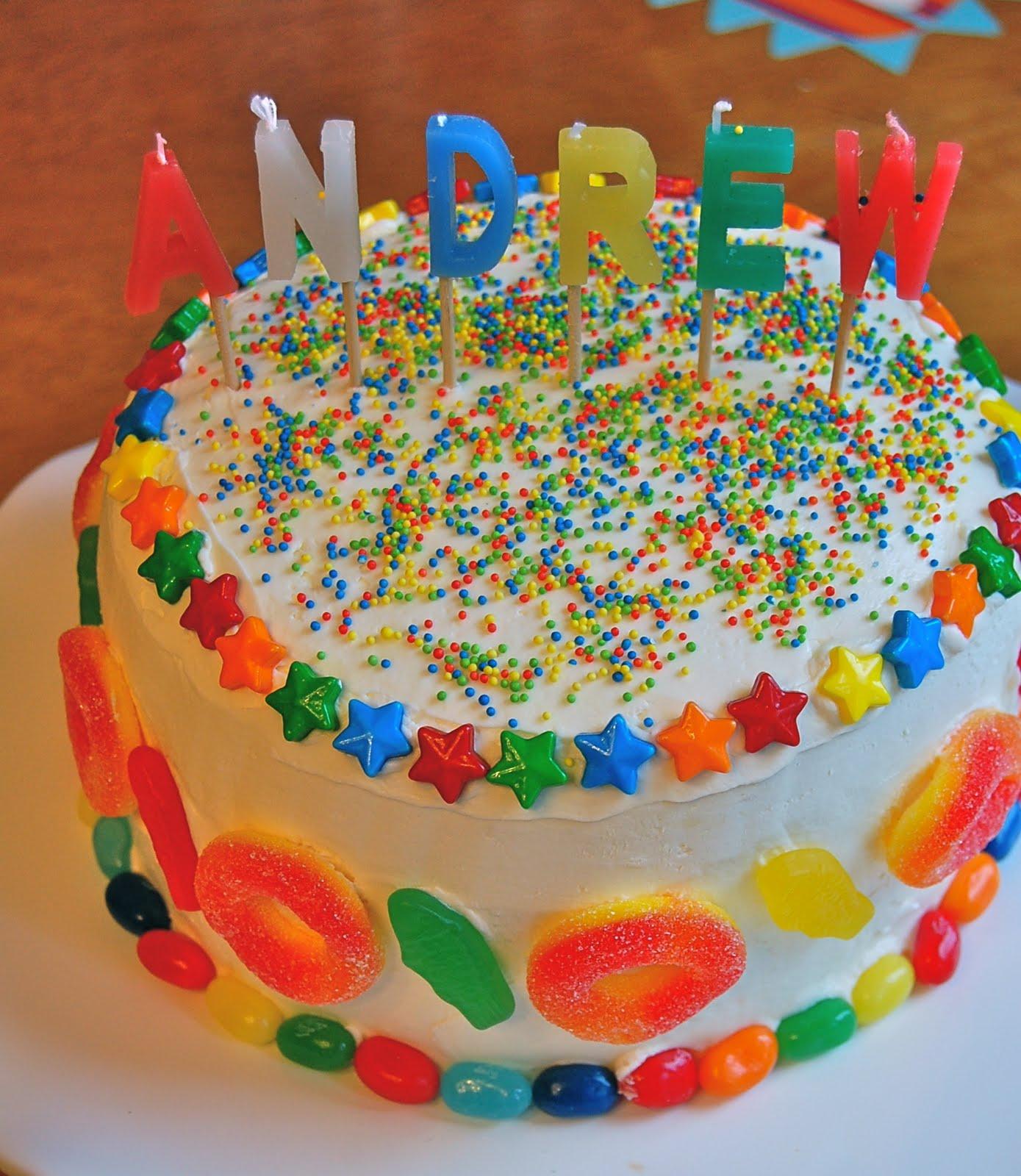 Chef Mommy: Candy Birthday Cake