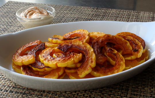 Delicata Squash from Food Wishes