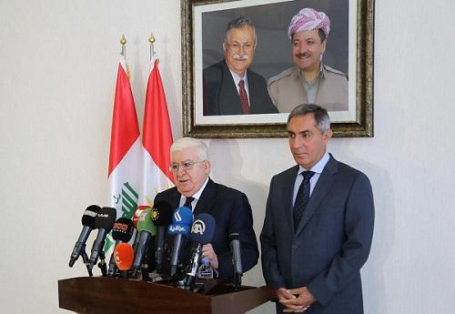 Irak Cumhurbaşkanı Fuat Masum Kürdistan Bağımsızlık Referandumu