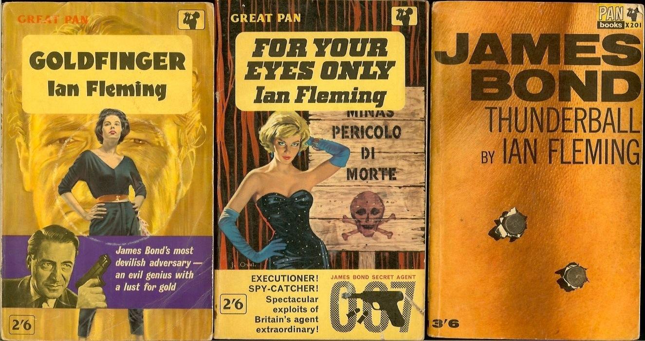 JAMES BOND UK first edition paperbacks     - The Book Bond