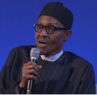 Video: Buhari: Young Nigerians sit and do nothing