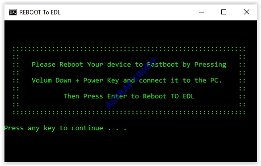 How to Reboot to Emergency Download Mode (EDL) From Fastboot