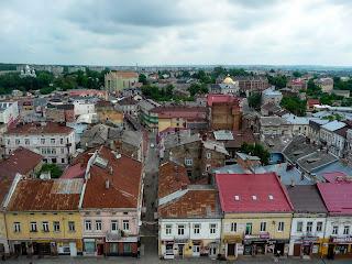 Дрогобыч. Вид с городской ратуши