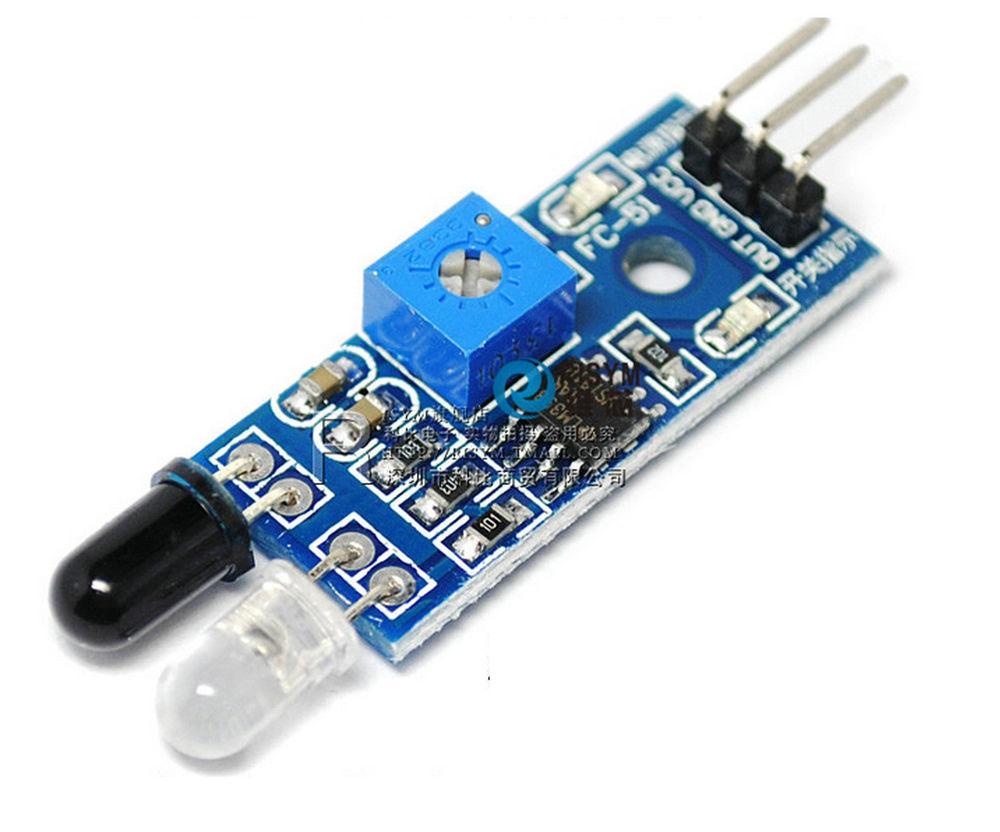 Infrared Sensor Circuit Board Best Secret Wiring Diagram Pir Interfacing With Arduino Ir Proximity Circuits4you Com Example Of Optoschmitt Motion