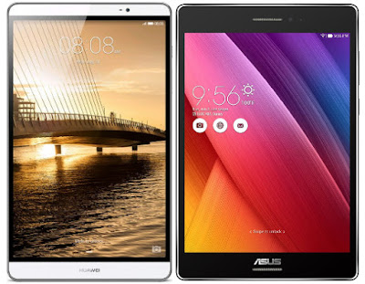 Huawei MediaPad M2 8.0 vs Asus ZenPad S 8.0 Z580C