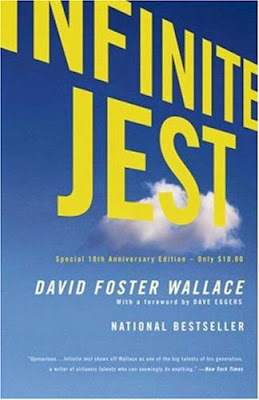 Infinite Jest by David Foster Wallace - book cover