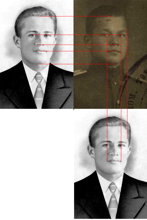 Сравнение портретов