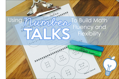 Using Number Talks to Build Math Fluency and Flexibility