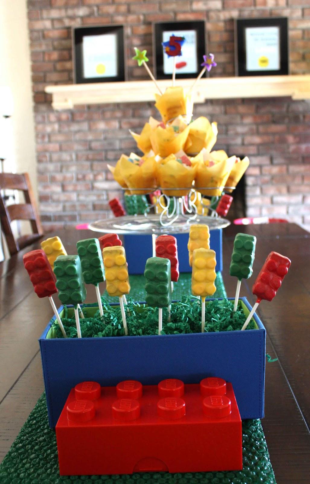 Ninja Lego Cake Pops