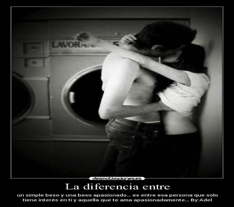 Imagenes De Amor Con Frases Imágenes De Besos Apasionados
