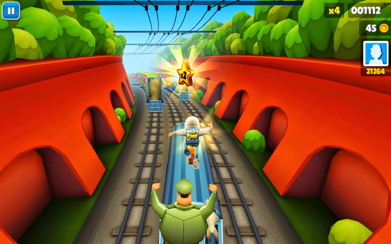 game subway surfers mien phi