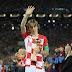Luka Modric é eleito o melhor jogador da Copa do Mundo