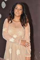 Mumaith Khan in Beig Skin Colored Anarkali Dress at Kalamandir Foundation 7th anniversary Celebrations ~  Actress Galleries 011.JPG