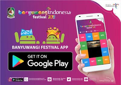Aplikasi Banyuwangi Festival.