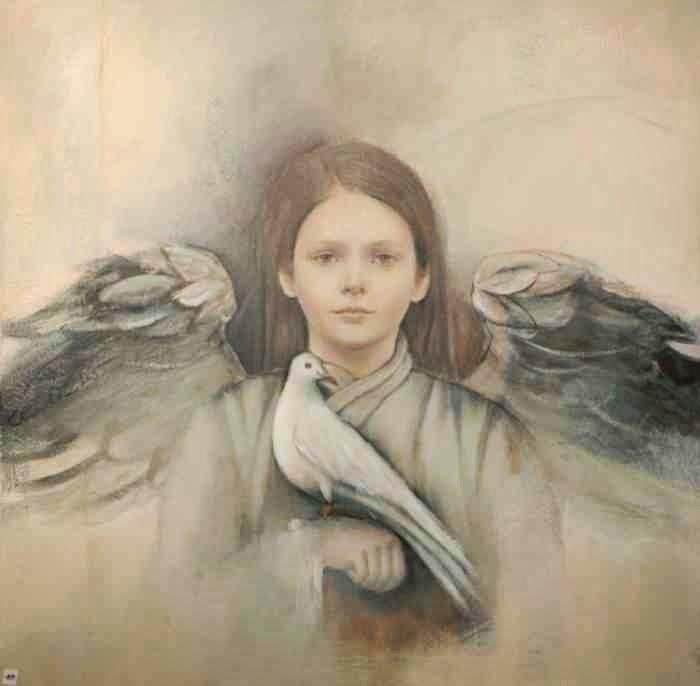 Немецкая художница. Elvira Amrhein