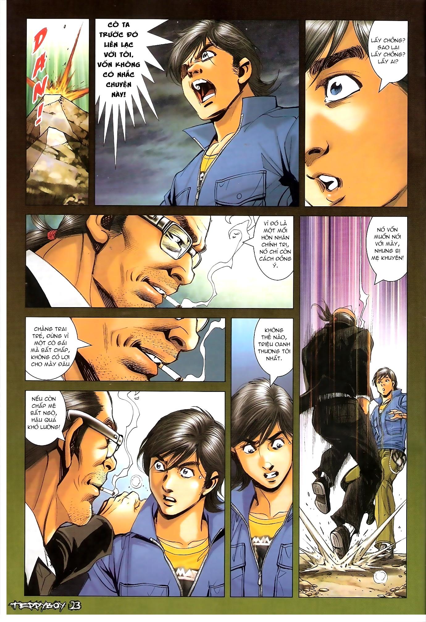 Người Trong Giang Hồ - Chapter 1313: Triệu Kế Bang - Pic 18