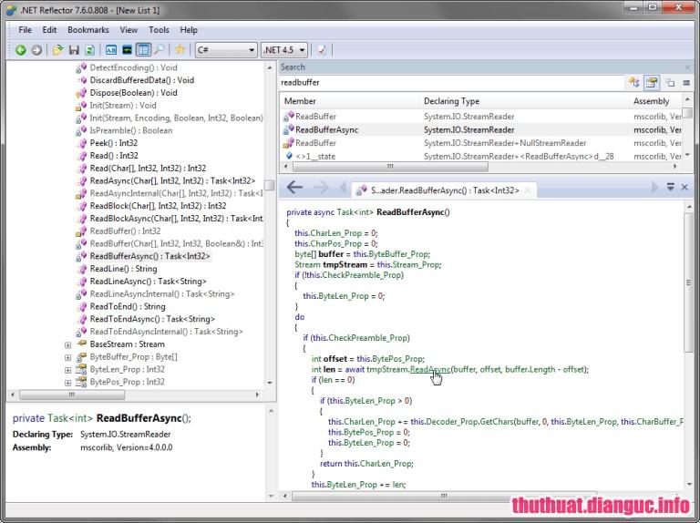 TIỆN ÍCH - Download  NET Reflector 10 0 11 910 VSPro Full Key