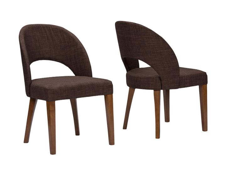 Baxton Studio Lucas Mid-Century Design Dining Chair