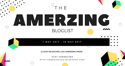 The Amerzing Bloglist: Be Amazing