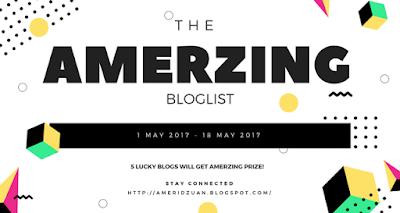 The Amerzing Bloglist: Be Amazing