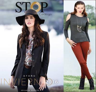 catalogo ropa stop invierno 2016