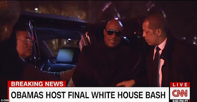 Stevie wonder at obama farewell