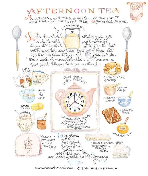 Five Handy Tea Time Infographics with tips on catering, etiquette, serving and hosting - not to mention the history of Afternoon Tea. by Eliza Ellis