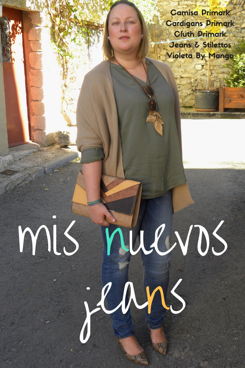 Los looks de mi armario mis nuevos jeans de violeta by - Violeta mango madrid ...