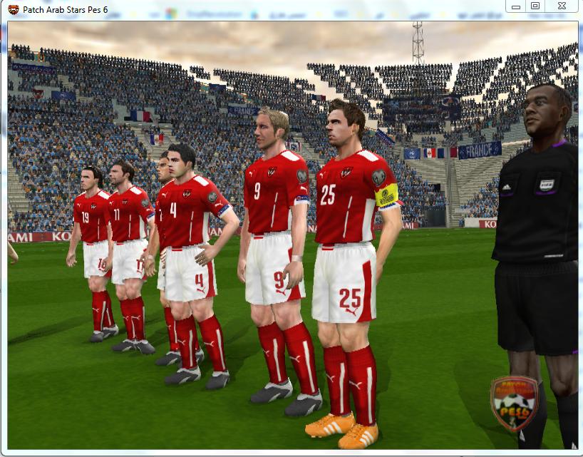 تحميل لعبة بيس 6 كاملة من ميديا فاير للكمبيوتر Download Pro Evolution Soccer 6