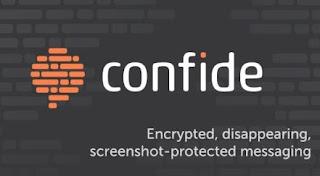 برنامج, دردشة, ومحادثات, آمنة, يستخدم, نظام, تشفير, للرسائل, Confide
