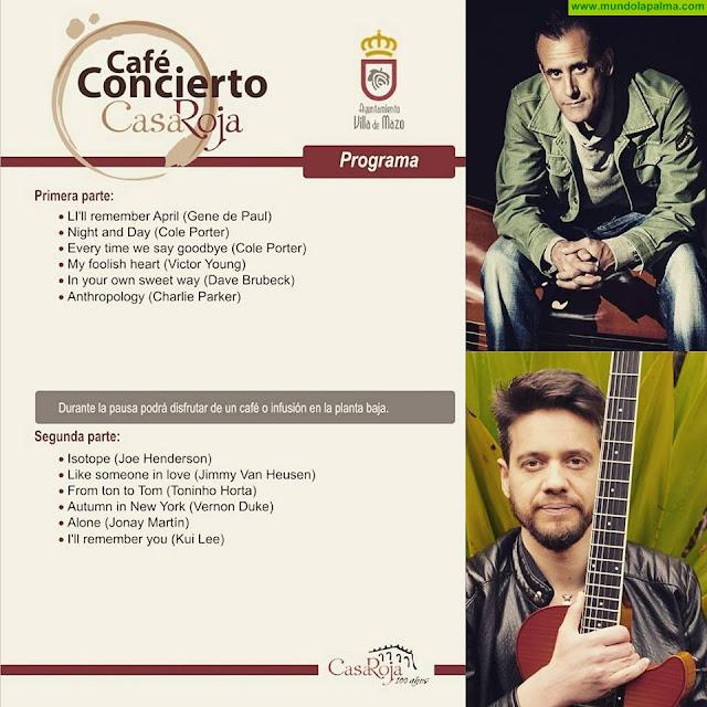 Café Concierto en el Museo Casa Roja con Jonay Martín y Carlos Costa