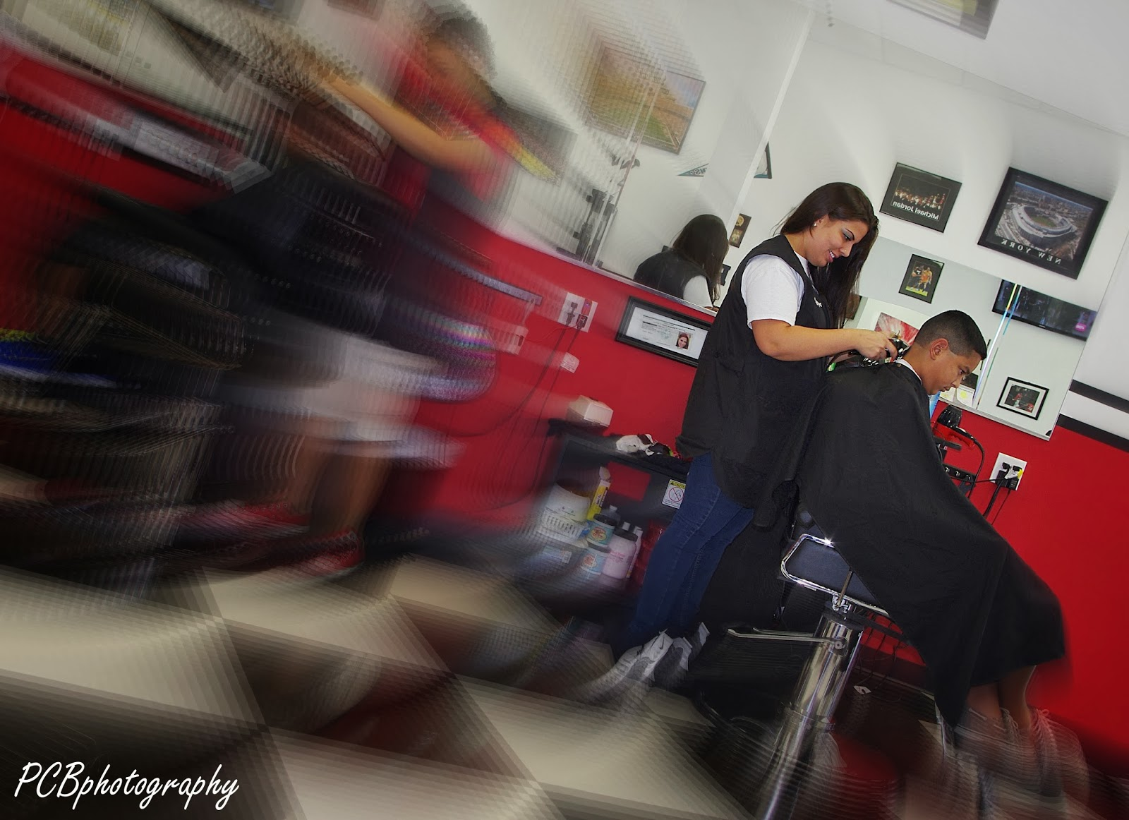 Perfectly Captured Beauty Photography The Female Barber