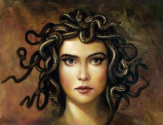 Visions of Whimsy: Medusa