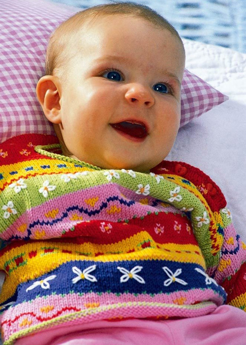 Colourful Sweater - Free Pattern
