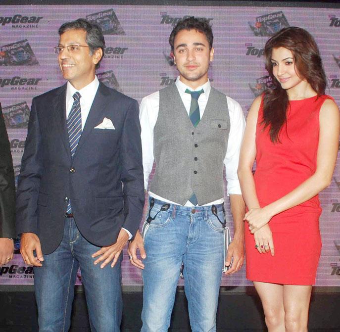 Download Song Lock Up By Karan: Anushka Sharma And Imran Khan Launch Top Gear Magazine