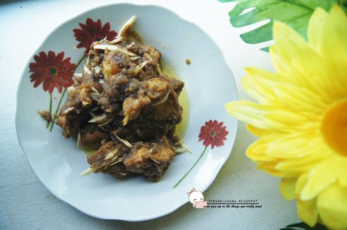 Resepi Ayam Masak Belacan