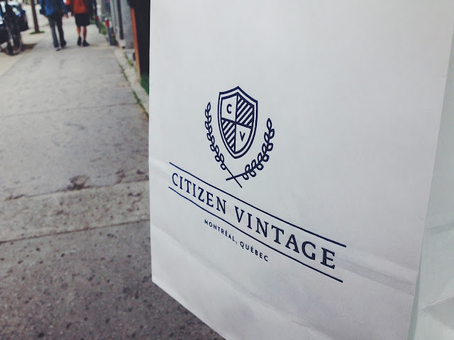 Citizen Vintage in Montreal
