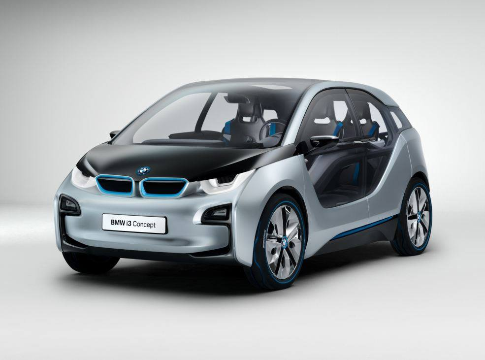 Cool Car Wallpapers: BMW i3 Electric
