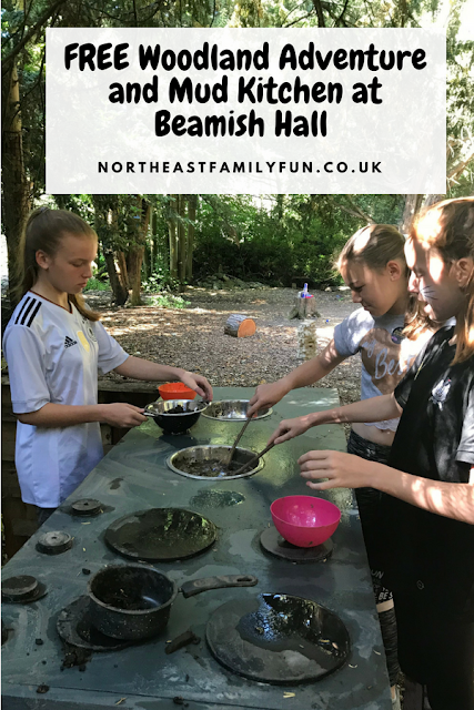 FREE Woodland Adventure and Mud Kitchen at Beamish Hall