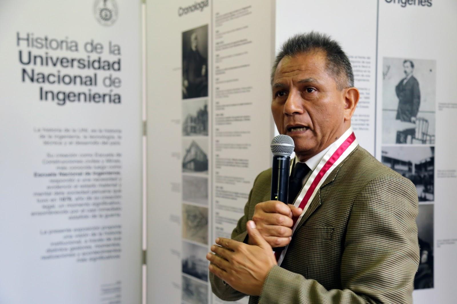 """Inauguran exposición fotográfica """"UNI en la historia"""""""
