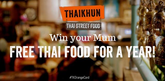 Thaikhun Giveaway