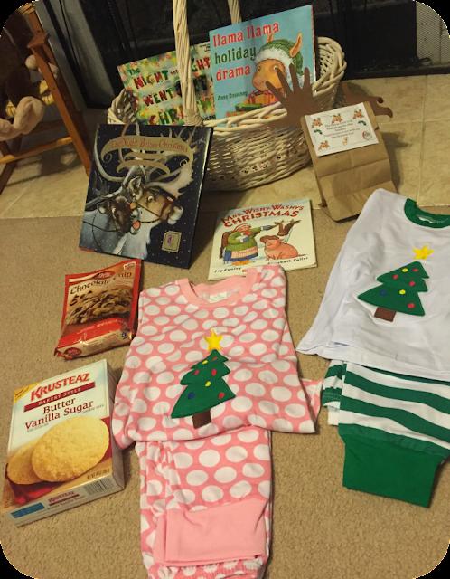 Christmas Pajamas, Reindeer Food, Santa cookies