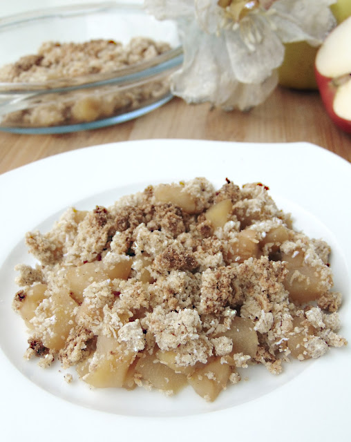 Jabłka i gruszki pod kruszonką