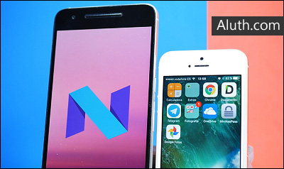 http://www.aluth.com/2016/07/android-n-vs-ios-10-new-features.html
