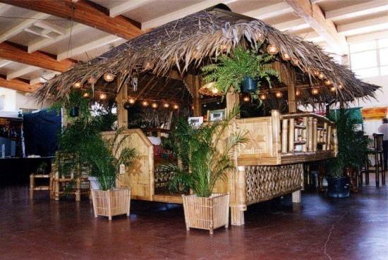 Bamboo Hut Decorations