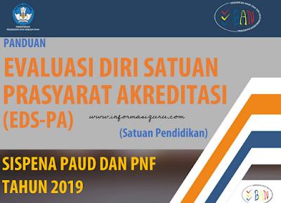 Download Panduan EDS-PA Sispena 2.0 PAUD dan PNF/ Pendidikan Non Formal Tahun 2019 Serta Cara Login Aplikasinya