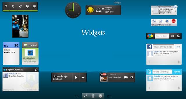 widget android animasi