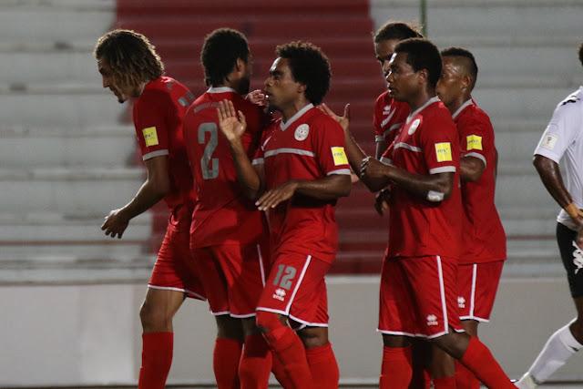 Futbol Nueva Caledonia 2-1 Fiji