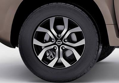 2016 Nissan Terrano AMT wheel image